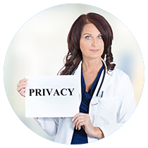 プライバシーに配慮